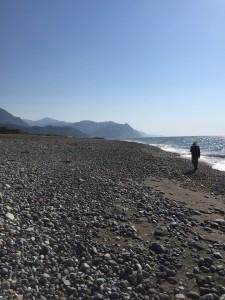 糸魚川の海岸